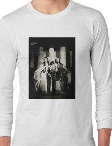 In happier days: King Arthur and Anna  Long Sleeve T-Shirt
