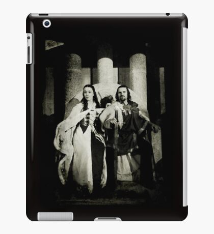 In happier days: King Arthur and Anna  iPad Case/Skin