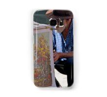 Behind In His Work Samsung Galaxy Case/Skin