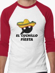 El Cuchillo Fiesta Knife Party Men's Baseball ¾ T-Shirt