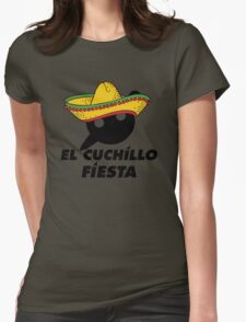 El Cuchillo Fiesta Knife Party Womens Fitted T-Shirt