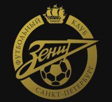 Zenit Saint Petersburg FC golden logo by superpixus