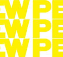PEWPEW Sticker