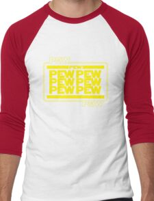 PEWPEW Men's Baseball ¾ T-Shirt