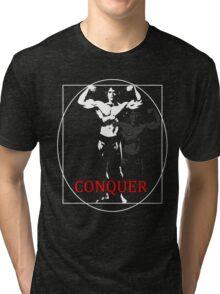 Arnold Schwarzenegger, Conquer Tri-blend T-Shirt