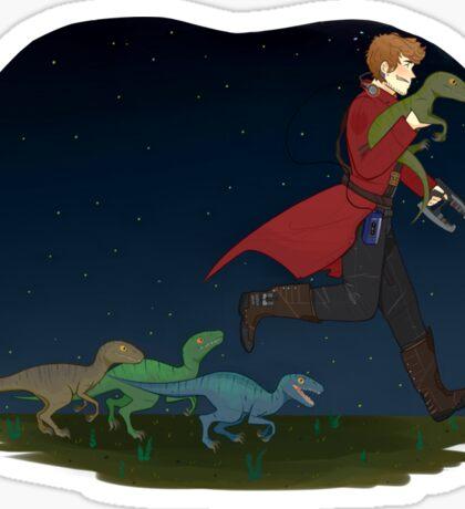 Dino Thief Sticker
