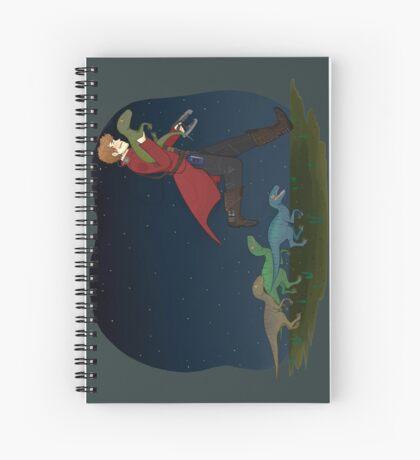 Dino Thief Spiral Notebook