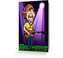 Trey Anastasio (Phish) Greeting Card