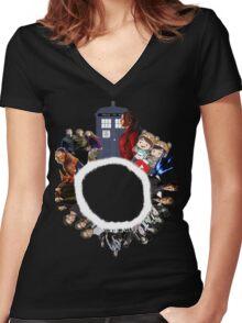 Multiphandom  Women's Fitted V-Neck T-Shirt
