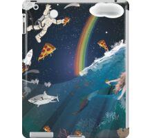 Intergalactic Undersea Pizza Party iPad Case/Skin