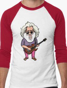 Jerry Garcia (The Grateful Dead) Men's Baseball ¾ T-Shirt