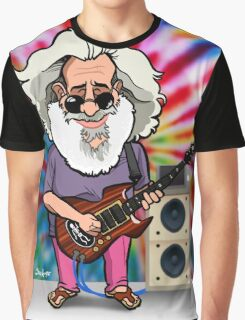 Jerry Garcia (The Grateful Dead) Graphic T-Shirt