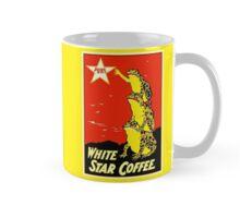 Retro vintage White Star Coffee ad, frogs Mug