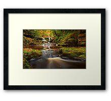 Water Arc Foss/Thomason Foss Falls Framed Print