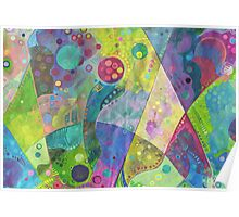 Abstract intersection Poster