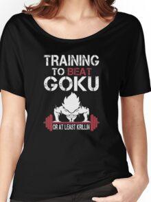 Goku Gym Women's Relaxed Fit T-Shirt
