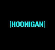 Hoonigan Racing Logo Cyan by djdannip