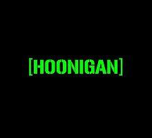 Hoonigan Racing Logo Green by djdannip