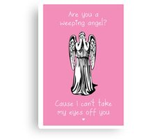 Are You a Weeping Angel? Canvas Print