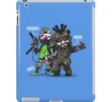 Airsoft and Speedsoft (White writing) iPad Case/Skin