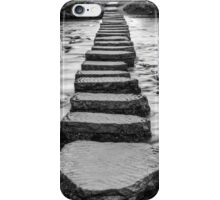 Stepping Stones at Lealholm  iPhone Case/Skin
