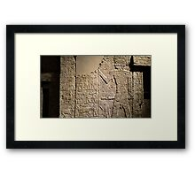 Egyptian collection - Neues museum  Framed Print