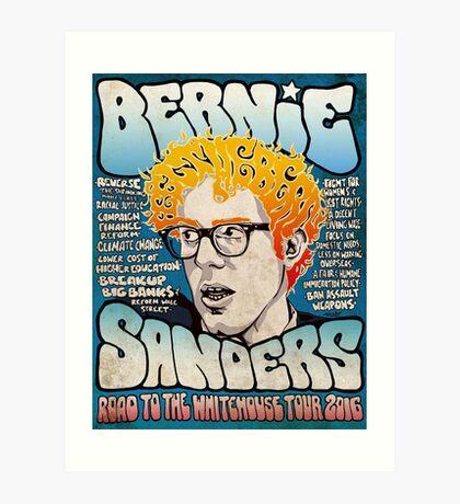Bernie Sanders Road To The Whitehouse Tour 2016 Art Print