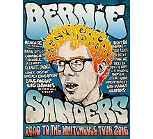Bernie Sanders Road To The Whitehouse Tour 2016 Photographic Print