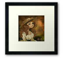 Shepherdess Framed Print