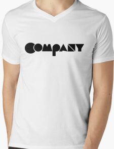 Company Mens V-Neck T-Shirt