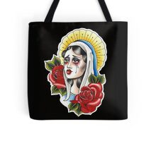 Our Lady Neotraditional Tattoo Painting Tote Bag