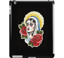 Our Lady Neotraditional Tattoo Painting iPad Case/Skin