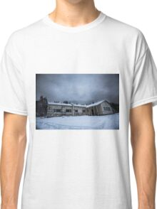 Abandoned Winter School in Lapland Classic T-Shirt