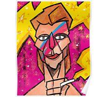 Bowie Aladdin Sane Poster
