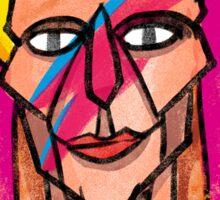 Bowie Aladdin Sane Sticker
