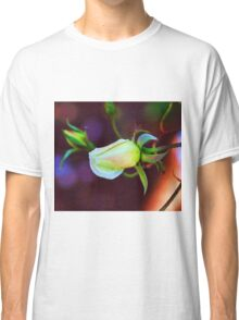 Abstract flowers drawing in pastel colors Take 11 Classic T-Shirt