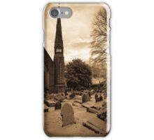 St Catwg's Church, South Wales iPhone Case/Skin