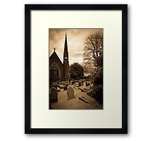 St Catwg's Church, South Wales Framed Print