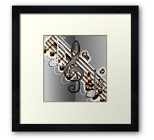 G Key Framed Print
