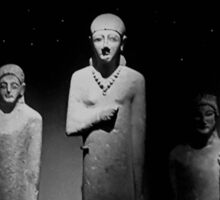 Ancient Sculptures Egyptians - Phoenicians  Sticker