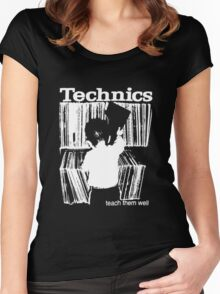 technics 1 Women's Fitted Scoop T-Shirt