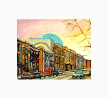 QUEBEC PAINTING BY QUEBEC ARTIST BARON BYNG HIGH SCHOOL MONTREAL CANADIAN ART Unisex T-Shirt