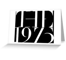 1975 band Greeting Card