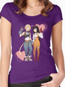 Gidan and Garnet Final Fantasy IX Women's Fitted Scoop T-Shirt