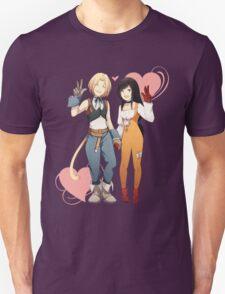 Gidan and Garnet Final Fantasy IX Unisex T-Shirt