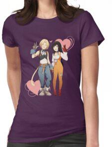 Gidan and Garnet Final Fantasy IX Womens Fitted T-Shirt