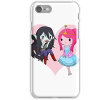 Marceline and Princess Bubblegum - Adventure Time iPhone Case/Skin