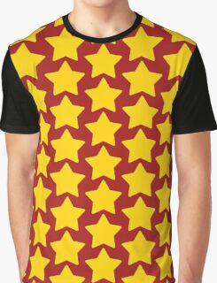Universe Star Cartoon Graphic T-Shirt