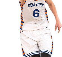 Kristaps Porzingis New York Knicks NBA by Ioander