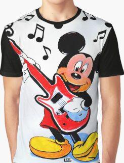 ROCKING MICKEY Graphic T-Shirt